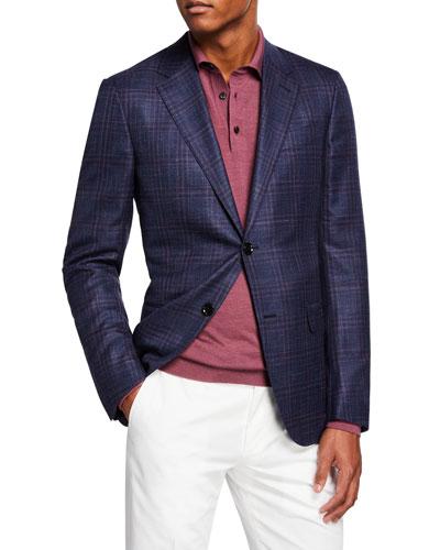 Men's Plaid Sport Coat
