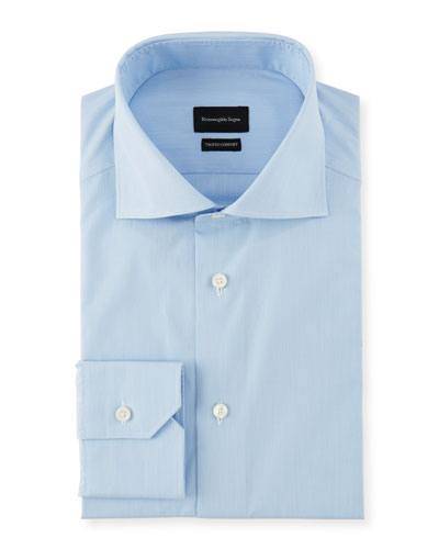 Men's Cotton Stripe Dress Shirt