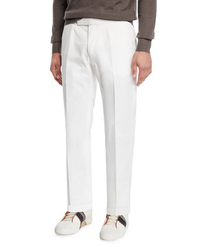 Men's Cotton Dress Trousers