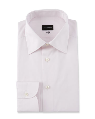 Men's Fili Cotton Tonal Check Dress Shirt