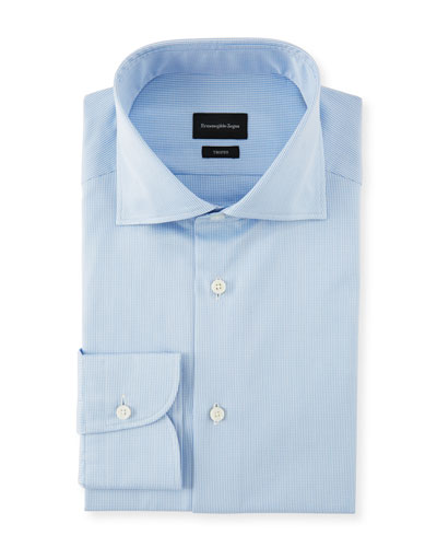 Men's Cotton Check Dress Shirt