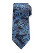 Ermenegildo Zegna Men's Silk Paisley Tie