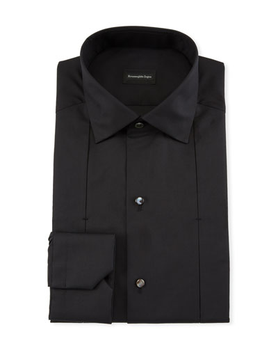 Men's Cotton/Silk Diamond Formal Shirt