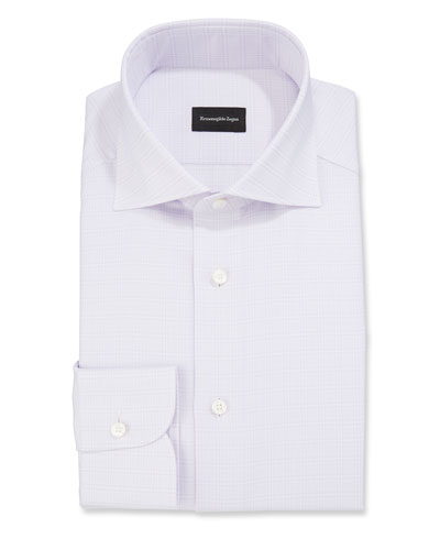 Men's Glen Check Dress Shirt