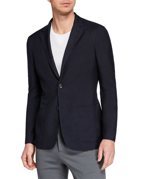 Ermenegildo Zegna Men's Cashmere/Silk Blazer