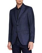 Ermenegildo Zegna Men's ACHILLFARM High-Textured Blazer