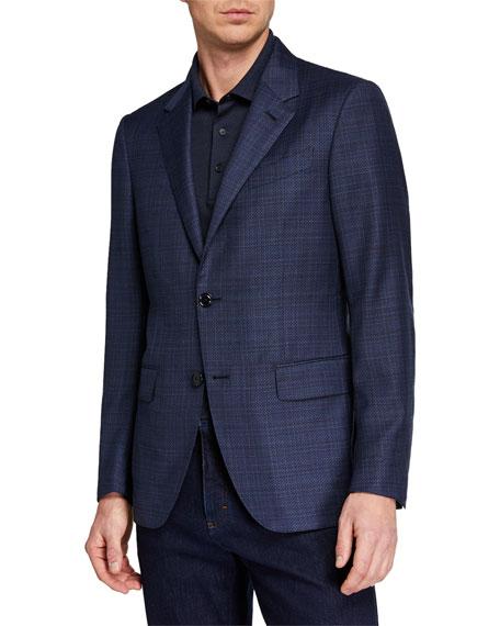 Ermenegildo Zegna Men's ACHILLFARM High-Textured Regular-Fit Blazer
