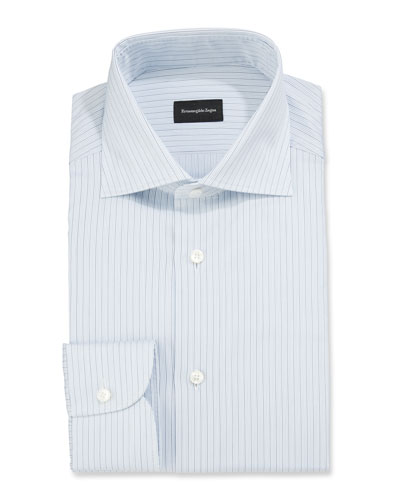 Men's Micro-Striped Dress Shirt
