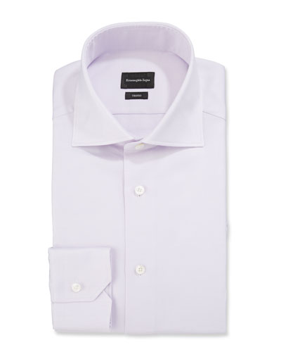 Men's Trofeo Solid Twill Dress Shirt