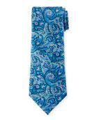 Ermenegildo Zegna Men's Medium-Scale Paisley Tie