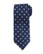 Ermenegildo Zegna Paisley Pines Silk Tie