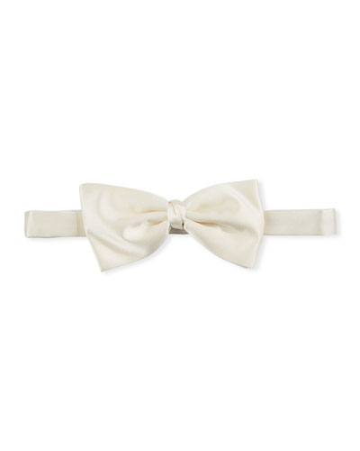 Men's Satin Self-Tie Bow Tie