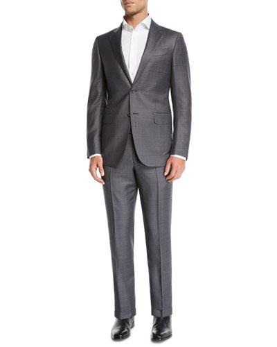 Men's Two-Piece Wool Trofeo Suit