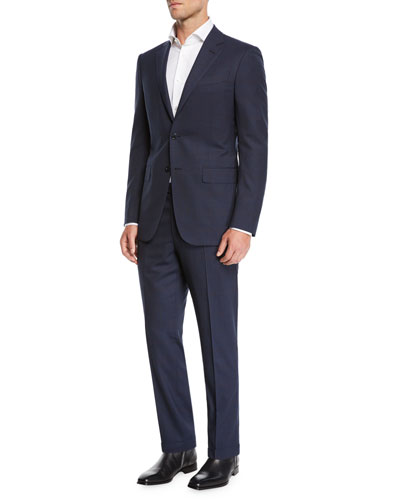 16c8b757ff288 Ermenegildo Zegna Navy Wool Suit   Neiman Marcus