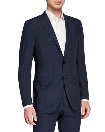Men's Leggerissimo Two-Piece Solid Wool-Silk Suit