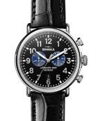 Shinola Men's 47mm Runwell Chronograph Watch
