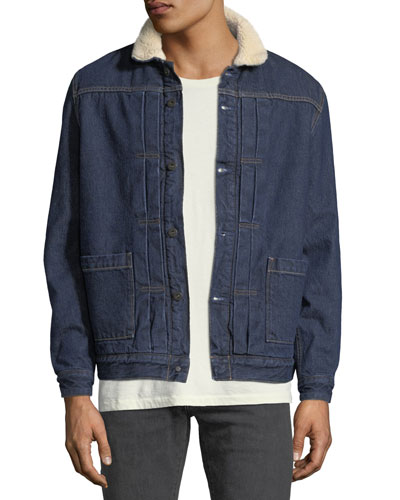 Men's Type II Sherpa-Trim Trucker Jacket