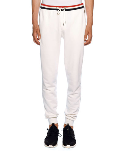 Men's Lounge Pants with Tricolor Trim