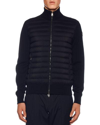 Men's Jersey Tricot Cardigan