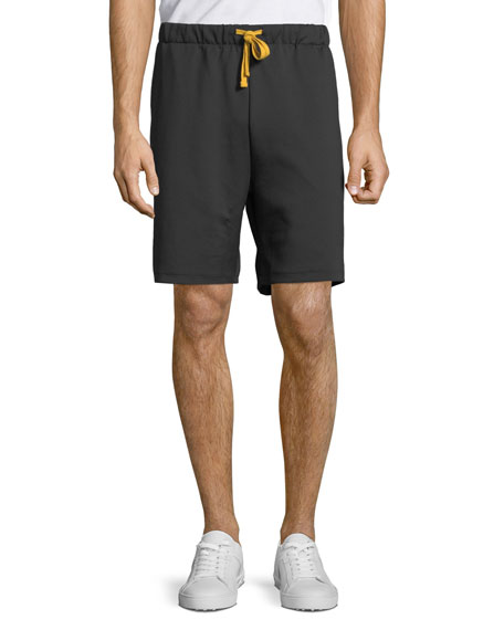 Ovadia Men's Contrast-Trim Track Shorts