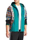 Adidas Men's x Pharrell Williams SOLARHU Zip Hoodie