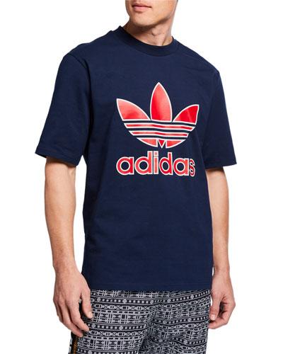 Men's Large Trefoil Boxy T-Shirt