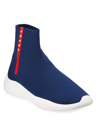 Men's Sock-Boot Sneakers