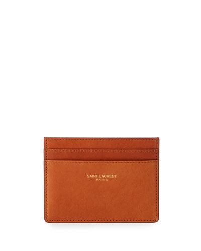 Men's Classic Leather Card Case