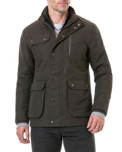 Men's Harper Waxed Field Jacket