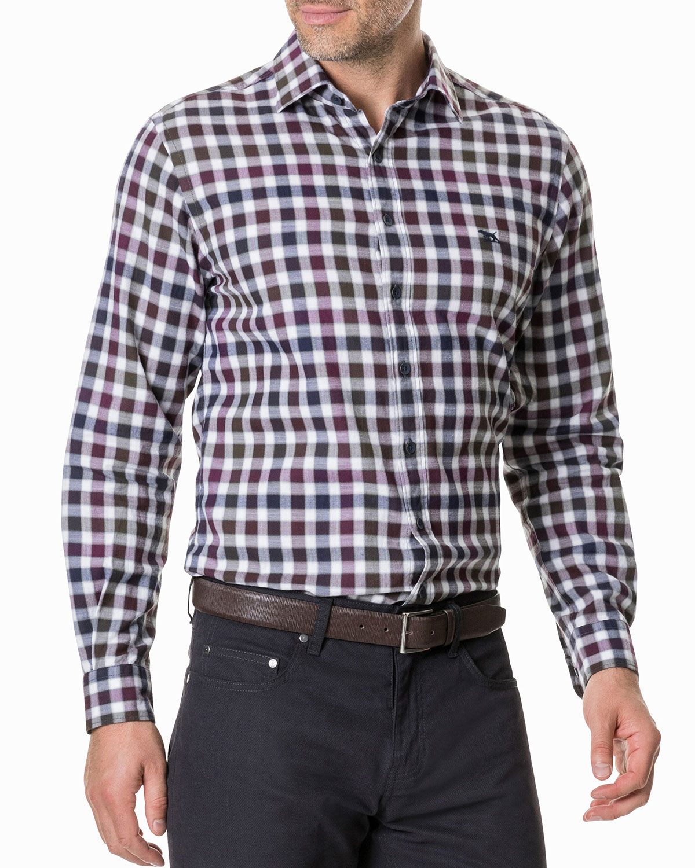 Men's Harvest Avenue Check Sport Shirt