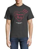 HUMAN MADE Men's Graphic Logo T-Shirt