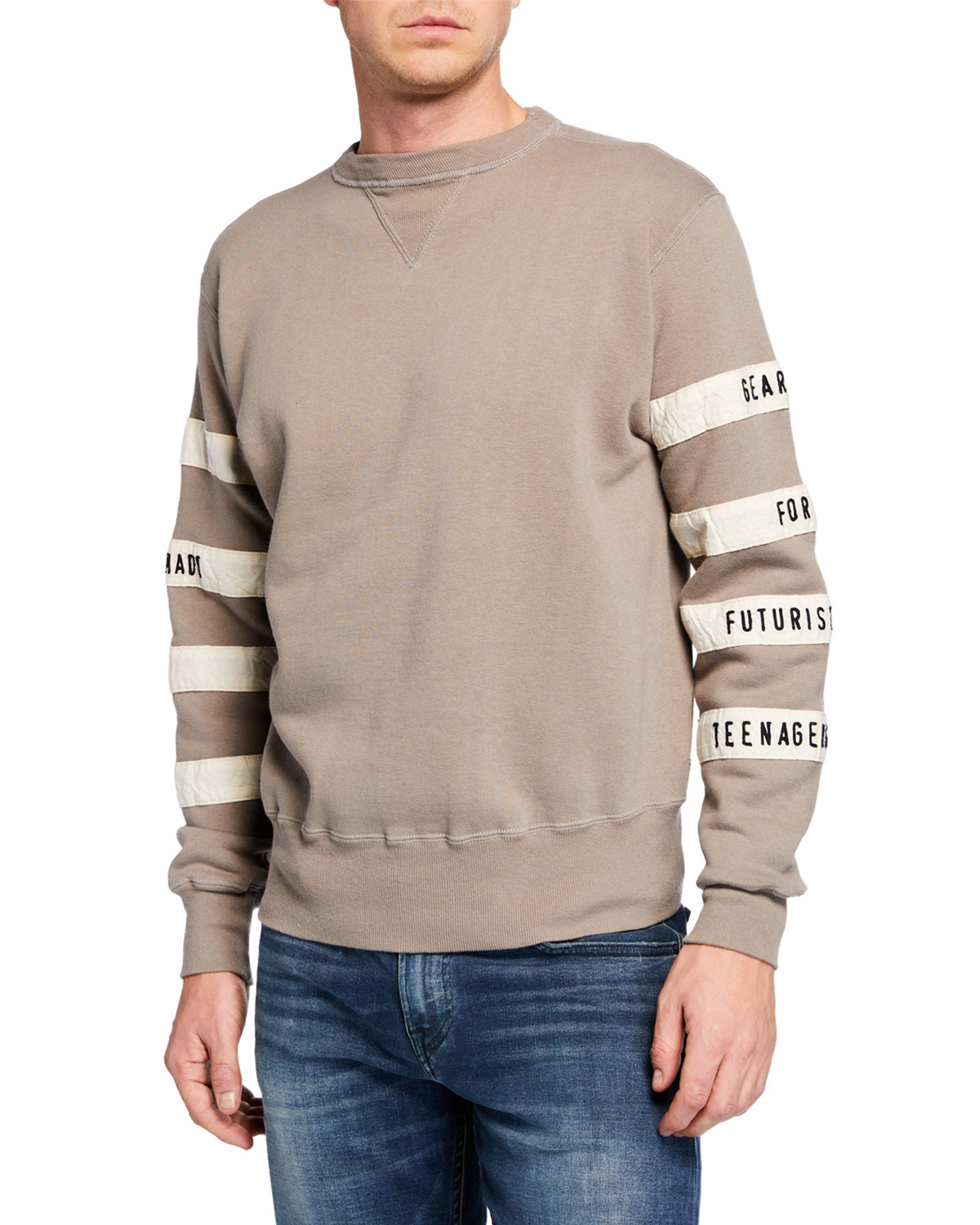 HUMAN MADE Men'S Football Sweater in Gray