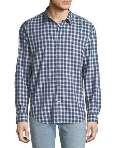 Men's Irving Flannel Check Sport Shirt