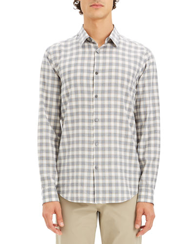 Men's Irving Check Flannel Sport Shirt