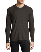 ATM Anthony Thomas Melillo Men's Cashmere-Blend Crewneck Sweater