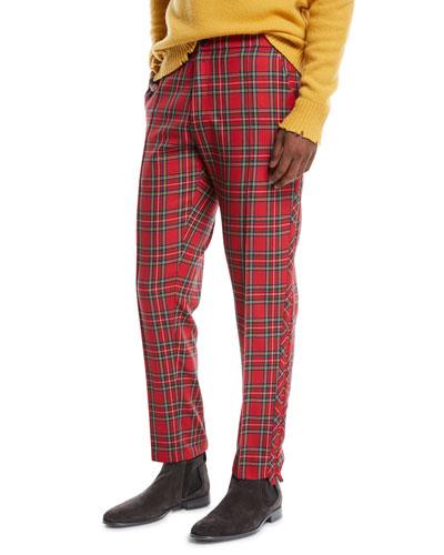 Men's Sideline Wool Track Trousers