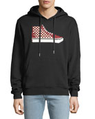 Mostly Heard Rarely Seen Men's High-Top Print Hoodie