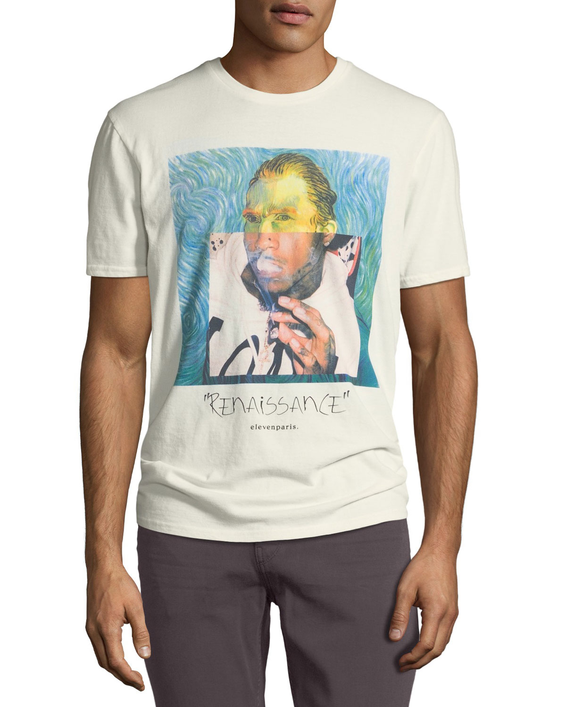 Men's Van Gogh Graphic T-Shirt