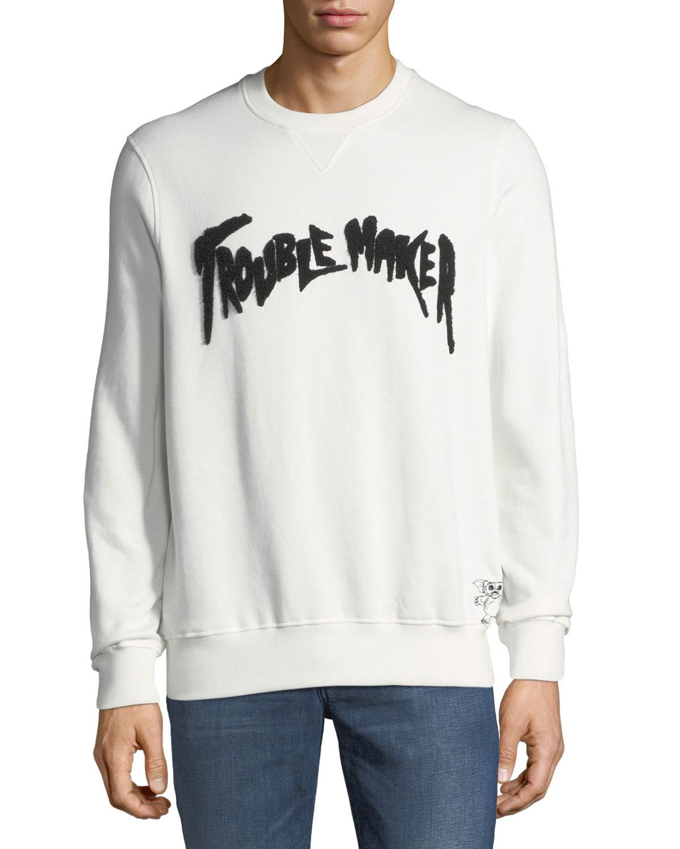 Men's Trouble Maker Graphic Sweatshirt