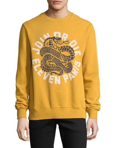 Men's Join or Die Graphic Sweatshirt