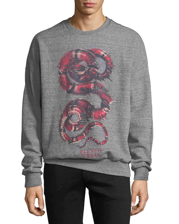 Men's Snake Graphic Sweatshirt