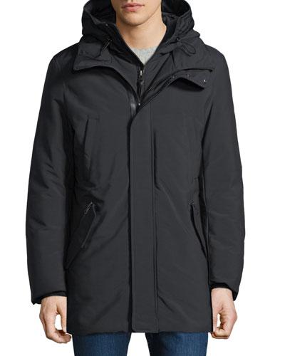 Men's Hooded Down Puffer Coat