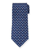 Salvatore Ferragamo Gullive Hot Air Balloon Silk Tie,