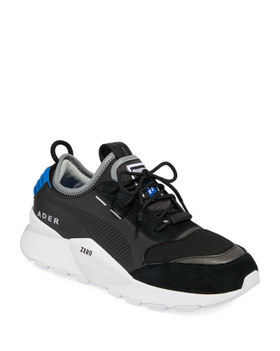 Men's Ader Error Leather Trainer Sneakers