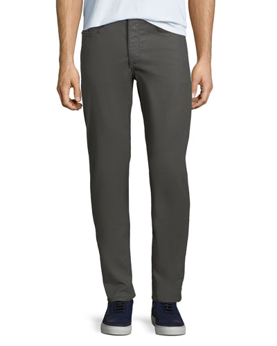Men's Standard Issue Fit 2 Mid-Rise Relaxed Slim-Fit Chino Pants, Gray