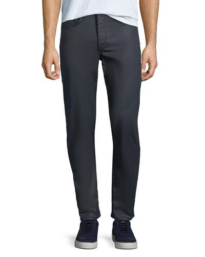 Men's Standard Issue Fit 1 Slim-Skinny Jeans, Coated Blue