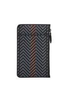 Ermenegildo Zegna Men's Pelle Tessuta iPhone®+ Pouch Case
