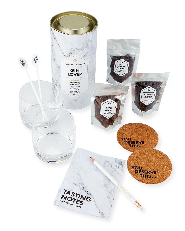 MEN'S SOCIETY Gin Lover'S Accessory & Tasting Gift Set in Multi