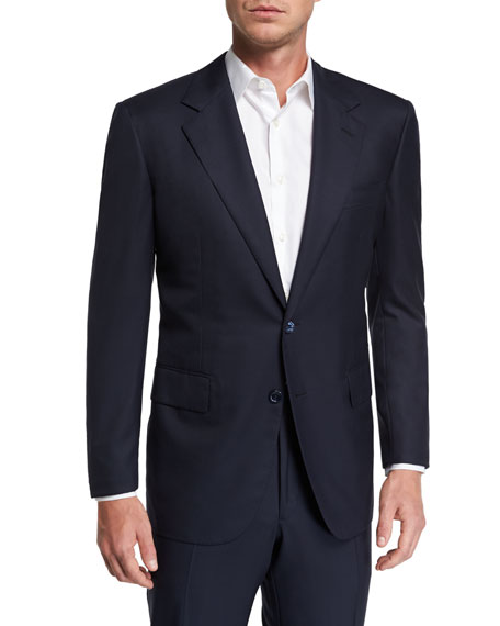 Stefano Ricci Men's Solid Wool Two-Piece Suit