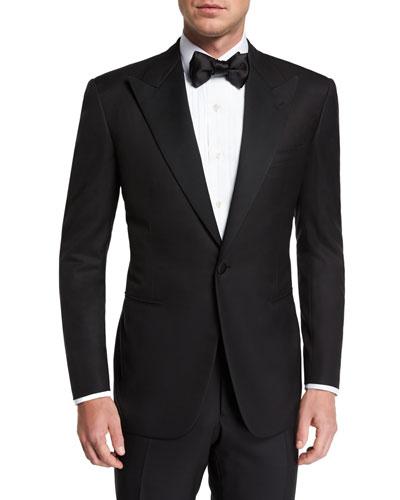 Men's Wool Two-Piece Tuxedo